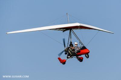 Airborne trike gusair